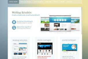 Joomla weblapkészítés